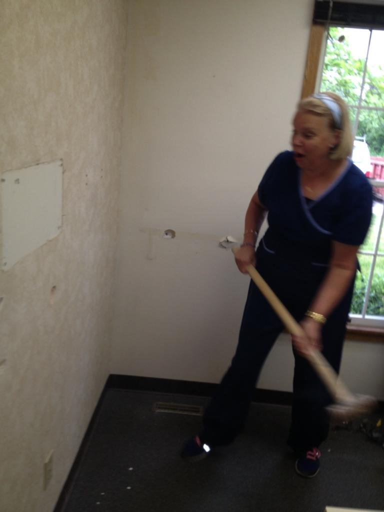Heidi Johnston, 21 year employee of the dental practice