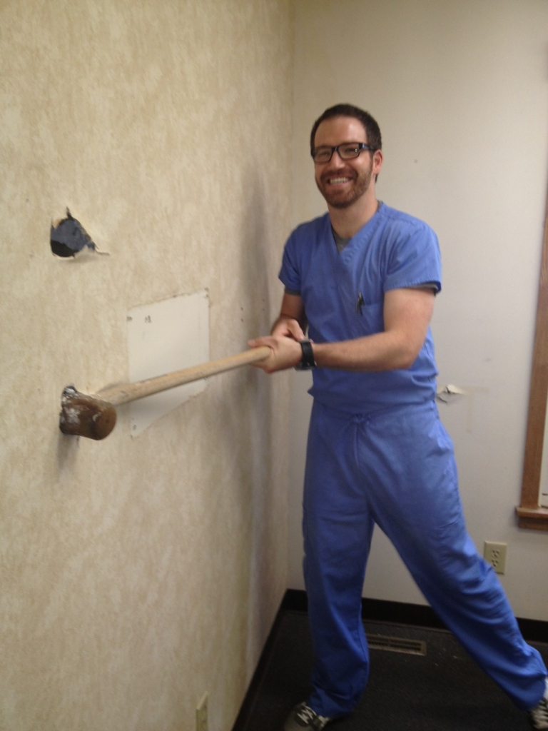 Dr. Theodore Bauer Renovating Olentangy