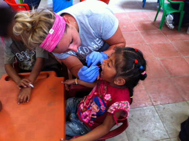 Elise Mission Trip San Salvador