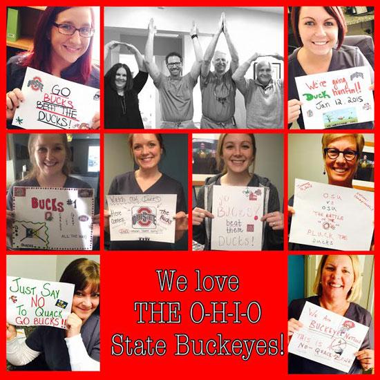 Schumacher & Bauer Ohio State Fans