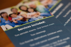 Brochure for Schumacher & Bauer, DDS, Preventative Care Services